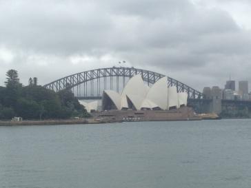 Opera y Puente Sidney